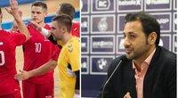 """FIFA atstovas apie Lietuvos pasirengimą futsalo pirmenybėms: """"Kartu išmokome įveikti visas kliūtis"""" (nuotr. LFF.lt)"""