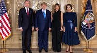 G. Nausėda susitiko su D. Trumpu (nuotr. facebook.com)