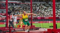 Disko metikas Andrius Gudžius olimpinėse žaidynėse užėmė šeštą vietą (nuotr. Vytauto Dranginio)