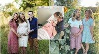 Surogatinė motina, būdama 51 metų amžiaus, pagimdė savo pačios anūkę (nuotr. Instagram)