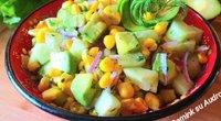 Avokadų ir agurkų mišrainė (Nuotr. Gamink su Audrone)