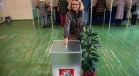 Rinkėjai balsuoja (Fotodiena/Justinas Auškelis)