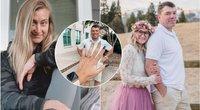 Savo pačios vestuvių didžėjų įsimylėjusi moteris galiausiai ištekėjo už jo – jos pirmasis vyras ją paliko, nes jautėsi atstumtas ir nelaimingas (nuotr. Instagram)