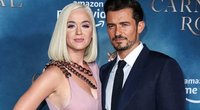 Katy Perry ir Orlando Bloom (nuotr. SCANPIX)