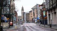Ištuštėjusios Belfasto gatvės, gruodžio 26-oji (nuotr. SCANPIX)