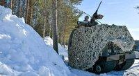Švedijos kariuomenė (nuotr. SCANPIX)