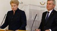 Dalia Grybauskaitė, Viktoras Pranckietis (nuotr. Tv3.lt/Ruslano Kondratjevo)