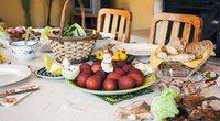 Velykų stalas  (nuotr. Shutterstock.com)
