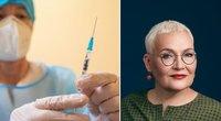 """Maldeikienė apie vėžiu sergančiųjų """"nurašymą"""": jie ir toliau sėdės namuose, o liga progresuos (tv3.lt fotomontažas)"""