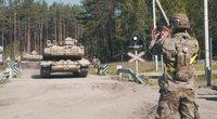 JAV kariai Lietuvoje pakuojasi lagaminus: pasakoja, kokius prisiminimus išsiveš (nuotr. stop kadras)