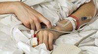Moteris ligoninėje (nuotr. Shutterstock.com)
