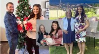Neįtikėtina istorija: šeimai likimas atsiuntė dvigubą stebuklą (nuotr. facebook.com)
