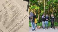 Bendruomenė renka parašus prieš nelegalių migrantų apgyvendinimą
