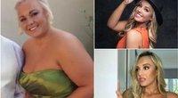 """""""Mis Didžioji Britanija"""" dalyvė pasidalino paslaptimis, kaip jai pavyko numesti daugiau nei 50 kg (nuotr. Instagram)"""