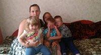 I. Milinavičiūtė ir jos vaikai (nuotr. asm. archyvo)