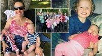 Po per 30 metų porai gimusių 14 berniukų, jie pagaliau susilaukė mergaitės (nuotr. Instagram)