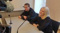Lemtinga diena smurtu prieš vaiką kaltinamos Geležiūnienės byloje (nuotr. TV3)