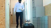 Kovoje su COVID-19: lietuvio sukurtas robotas ir dar didesnės ambicijos