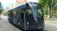 Elektrinis autobusas Klaipėdoje (nuotr. TV3)