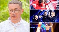 """Aleksandras Pogrebnojus pasisakė apie """"Eurovizijos"""" atranką (nuotr. archyvinė/LRT)"""