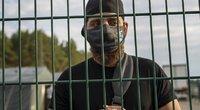 Migrantas iš Irako Lietuvoje (nuotr. SCANPIX)