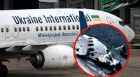 """Irane sudužusio """"Boeing"""" katastrofa kelia klausimų: įtaria raketos pataikymą (nuotr. SCANPIX) tv3.lt fotomontažas"""