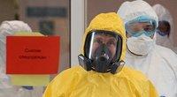 Putinas – po devyniais užraktais: saugantis viruso buvo imtasi ypatingų priemonių (nuotr. SCANPIX)