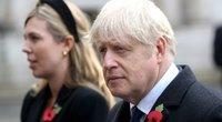 Boris Johnson ir Carrie Symonds (nuotr. SCANPIX)
