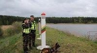 Pasienis su Baltarusija (nuotr. VSAT)