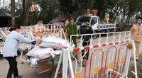 Viename Vietnamo rajone dėl koronaviruso paskelbtas karantinas (nuotr. SCANPIX)