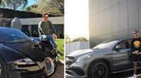 C. Ronaldo automobiliai (tv3.lt fotomontažas)