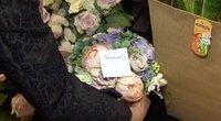 Bando išgelbėti gėlių verslą: ėmėsi kitokių priemonių, kurios pasiteisino (nuotr. stop kadras)