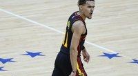 """Atkaklią seriją laimėję """"Hawks"""" prasibrovė į Rytų konferencijos finalą. (nuotr. SCANPIX)"""