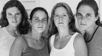 Seserys fotografuojasi 40 metų (Nicholas Nixon nuotr.) (nuotr. asm. archyvo)
