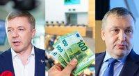 Turtingiausi ir labiausiai prasiskolinę Seimo nariai (tv3.lt koliažas)