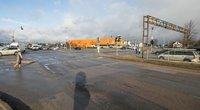 Liepkalnio, Žirnių gatvių ir Minsko plento sankryža (Sauliaus Žiūros nuotr.)