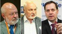 E. Gentvilas, V. Mazuronis, V. Tomaševskis (tv3.lt fotomontažas)