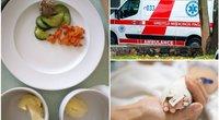 """Kauno ligoninės maistas sukėlė pasipiktinimą: """"Patrupinta lyg žvirbliams palesti"""" (tv3.lt fotomontažas)"""