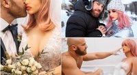 Kazachstane gyvenantis vyras visai neseniai vedė savo mylimąją Margo – guminę sekso lėlę (nuotr. Instagram)