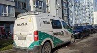Tragedija Vilniuje: žuvo iš 6 aukšto iškritusi mergina (nuotr. Broniaus Jablonsko)