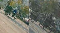 Rikšos Vilniaus gatvėse (nuotr. skaitytojo)