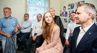 Socialdemokratai pristatė kandidatus vienmandatėse apygardose Vilniaus mieste (nuotr. Fotodiena/Justino Auškelio)