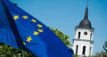 ES vėliava Vilniuje  (nuotr. Fotodiena.lt)