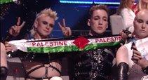 """Netikėtas islandų poelgis """"Eurovizijoje"""" (nuotr. YouTube)"""