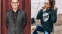 Tom Hanks ir Mya Lecia Naylor (tv3.lt fotomontažas)