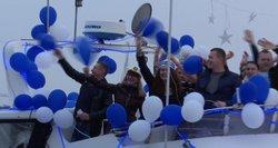 Klaipėdiečiai linksminosi laivų parade – atidarė vasaros sezoną