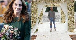 Floristas iš Lietuvos skinasi kelią į laimę Londone: jo kurta puokštė – net Middleton rankose