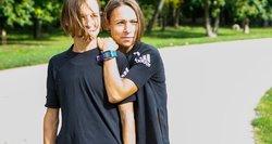 Bėgančios sesės dvynės Monika ir Milda: norime kartu keliauti į olimpines žaidynes
