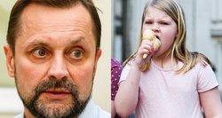 Profesorius Urbonas: stebina, kai tėvai vaikus su riebalų sankaupomis atveda, o baiminasi dėl vėžio