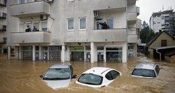 Potvynis Balkanuose kelia tarptautinį nerimą dėl minų